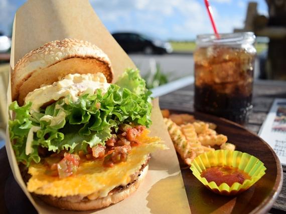 It is appearance, line burger 🍔🏝 once again in secret kemmin SHOW