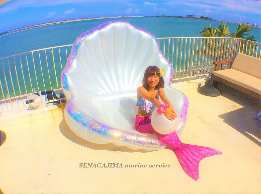 Mermaid experience ♪ Free of charge!